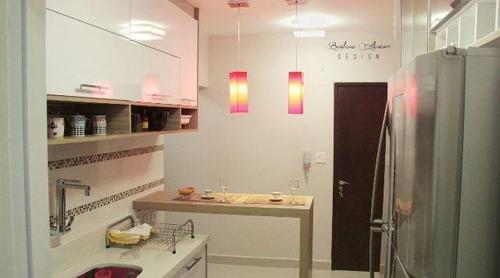 apartamento residencial à venda, gonzaga - ap0542