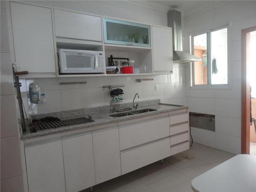 apartamento residencial à venda, gonzaga, santos - ap0061. - ap0061