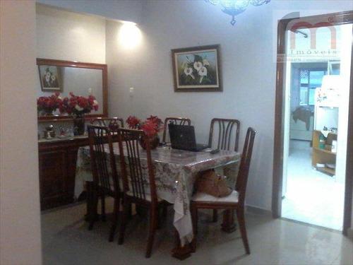 apartamento residencial à venda, gonzaga, santos - ap0452. - ap0452
