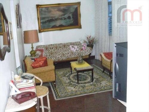 apartamento residencial à venda, gonzaga, santos - ap0540. - ap0540