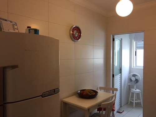 apartamento residencial à venda, gonzaga, santos - ap0646. - ap0646