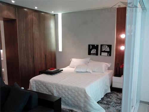 apartamento residencial à venda, gonzaga, santos. - ap2647