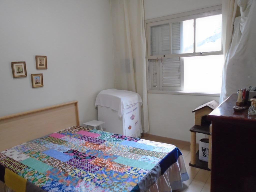 apartamento residencial à venda, gonzaga, santos. - ap3648