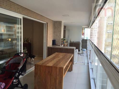apartamento residencial à venda, gonzaga, santos. - codigo: ap2082 - ap2082