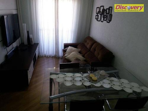 apartamento  residencial à venda, gopoúva, guarulhos. - ap0412