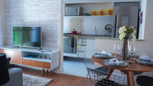 apartamento residencial à venda, granja viana, cotia. - ap0439