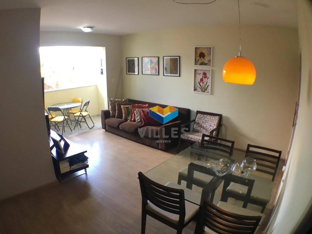 apartamento residencial à venda, gruta de lourdes, maceió. - ap0423