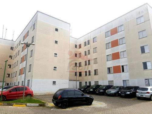 apartamento residencial à venda, guaianazes, são paulo. - ap0862