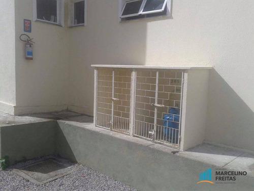 apartamento residencial à venda, guajiru, caucaia. - codigo: ap3022 - ap3022