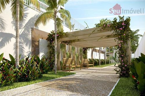 apartamento  residencial à venda, guararapes, fortaleza. - ap0070