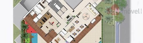 apartamento  residencial à venda, guararapes, fortaleza. - ap0583