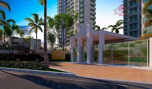 apartamento  residencial à venda, guararapes, fortaleza. - ap0680