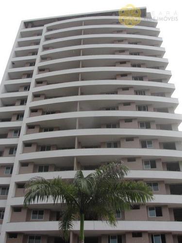 apartamento residencial à venda, guararapes, fortaleza. - ap1667