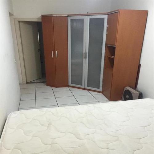 apartamento residencial à venda, guilhermina, praia grande. - ap0215