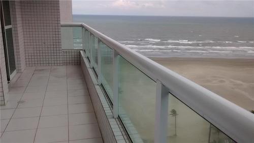 apartamento  residencial à venda, guilhermina, praia grande. - ap0423