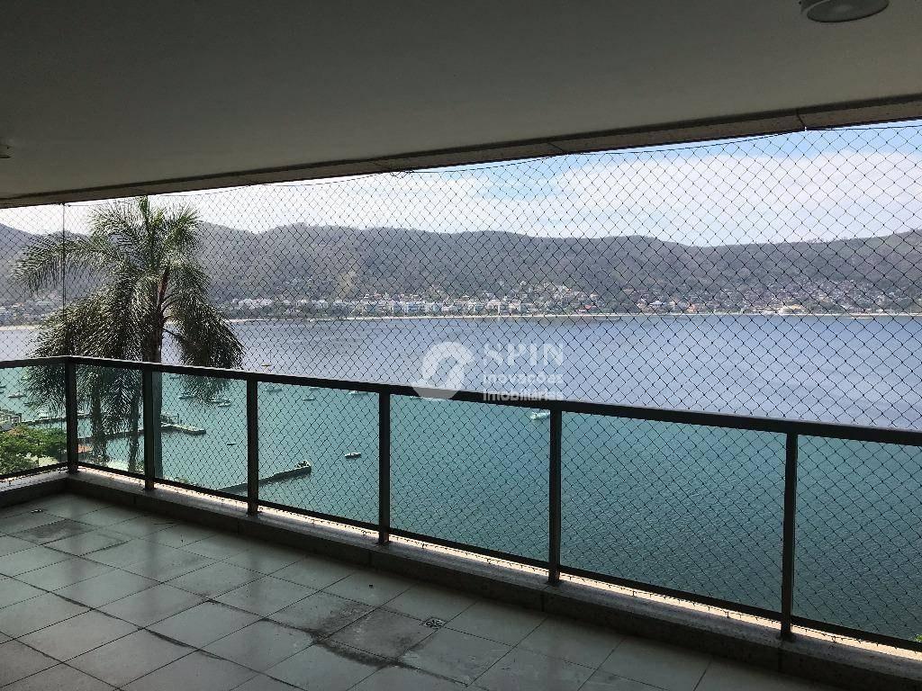 apartamento residencial à venda, icaraí, niterói. - ap0612
