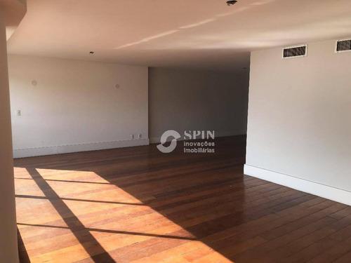 apartamento residencial à venda, icaraí, niterói. - ap0617