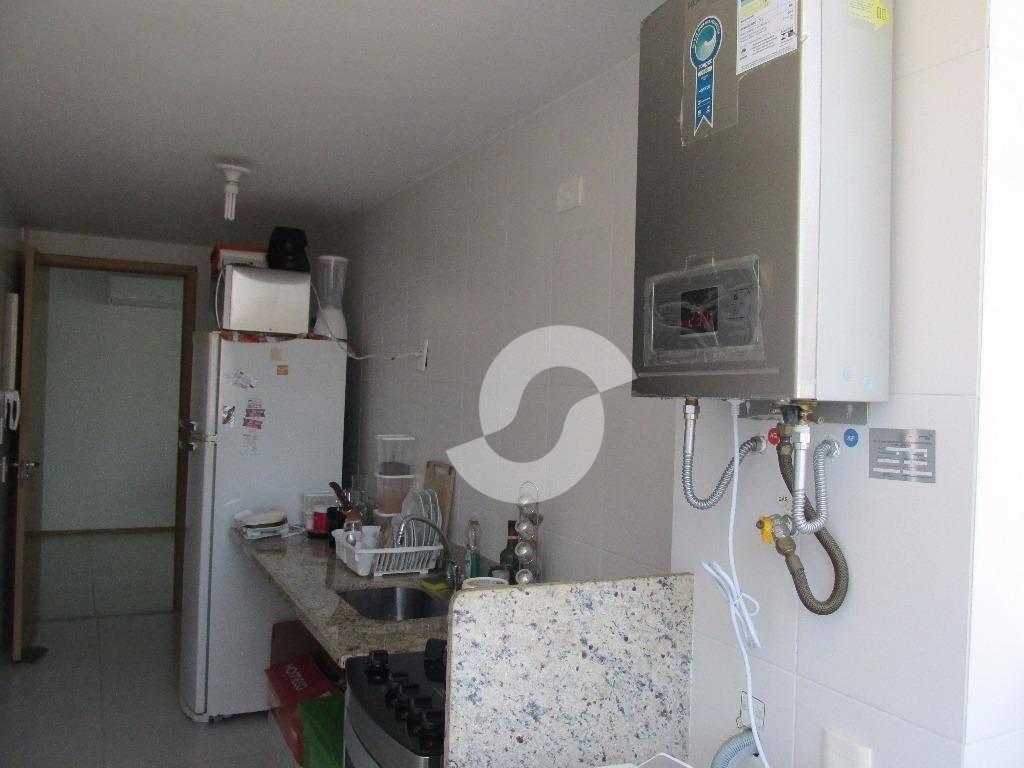 apartamento residencial à venda, icaraí, niterói. - ap0907