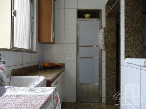 apartamento residencial à venda, icaraí, niterói. - ap0919