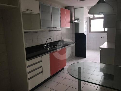 apartamento residencial à venda, icaraí, niterói. - ap2983