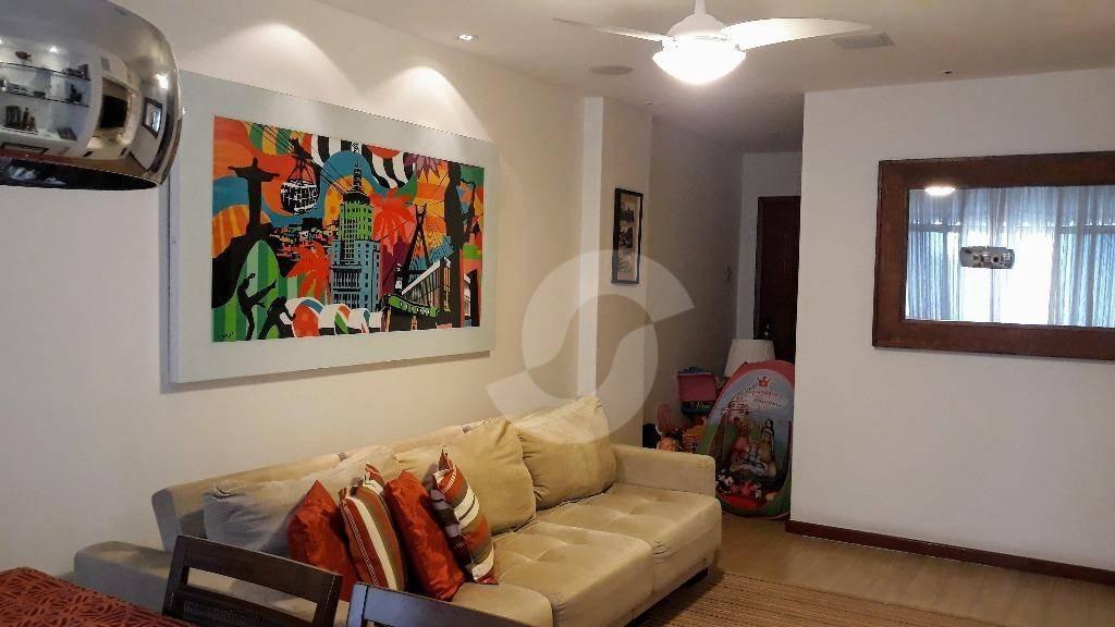 apartamento residencial à venda, icaraí, niterói. - ap6521
