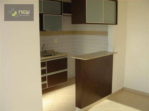 apartamento  residencial à venda, iguatemi, ribeirão preto. - ap0541
