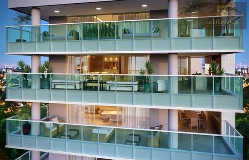 apartamento residencial à venda, indianópolis, são paulo. - codigo: ap2163 - ap2163