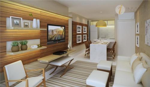 apartamento  residencial à venda, intermares, cabedelo. - ap3537