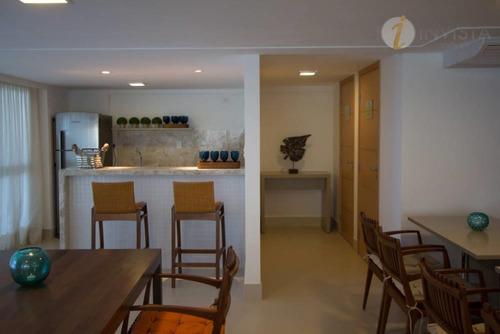 apartamento  residencial à venda, intermares, cabedelo. - ap4629