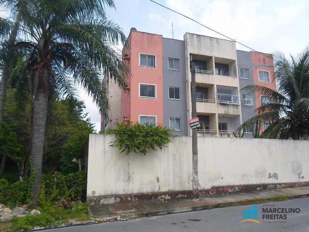 apartamento residencial à venda, itambé, caucaia - ap2653. - ap2653