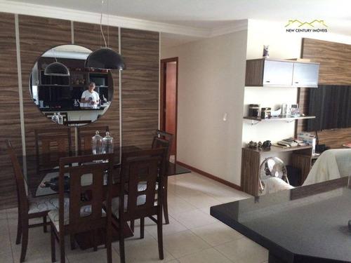 apartamento residencial à venda, itapuã, vila velha. - ap2251