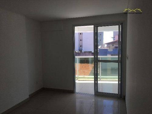 apartamento residencial à venda, itapuã, vila velha. - ap2299