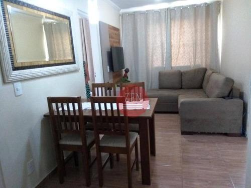 apartamento residencial à venda, itaquera, são paulo. - ap8703