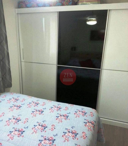 apartamento residencial à venda, itaquera, são paulo. - ap8711