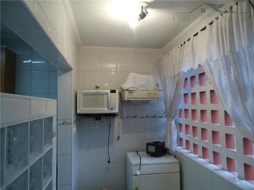 apartamento residencial à venda, itararé, são vicente. - ap0733