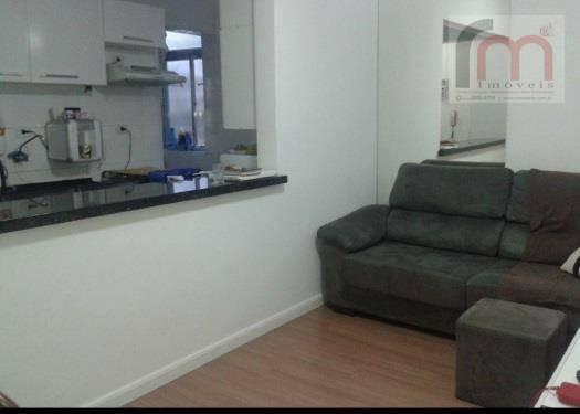apartamento residencial à venda, itararé, são vicente - ap1544. - ap1544