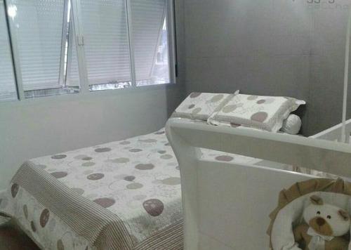 apartamento  residencial à venda, itararé, são vicente. - ap3955