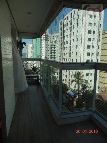 apartamento residencial à venda, itararé, são vicente. - codigo: ap1966 - ap1966