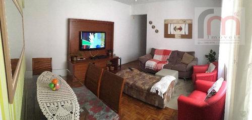 apartamento residencial à venda, itararé, são vicente. - codigo: ap2132 - ap2132