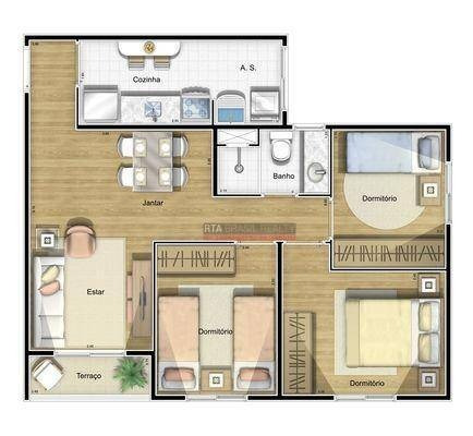 apartamento residencial à venda, jabaquara, são paulo - ap0448. - ap0448