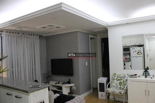 apartamento residencial à venda, jabaquara, são paulo. - ap0594