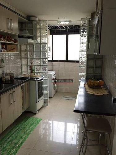 apartamento residencial à venda, jabaquara, são paulo. - ap0641