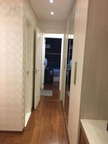 apartamento residencial à venda, jaguaré, são paulo. - ap3137