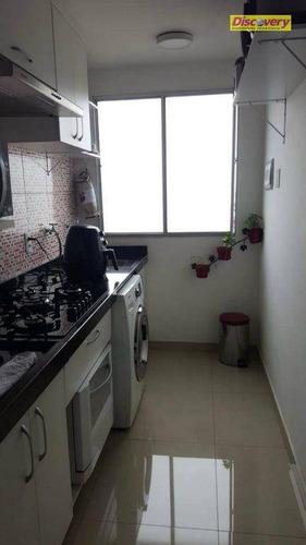 apartamento  residencial à venda, jardim adriana, guarulhos. - ap0356