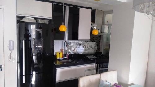 apartamento residencial à venda, jardim albertina, guarulhos - ap0396. - ap0396