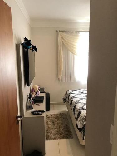apartamento residencial à venda, jardim alzira franco, santo andré. - ap1396