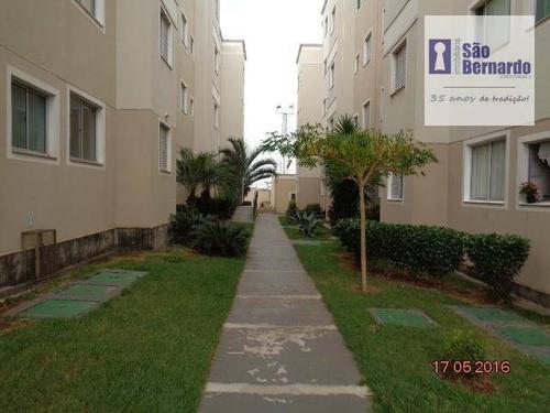 apartamento residencial à venda, jardim américa ii, americana. - ap0511