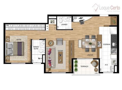 apartamento residencial à venda, jardim américa, indaiatuba. - ap0174