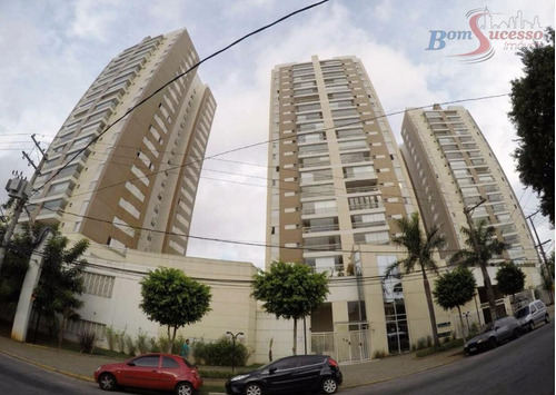 apartamento residencial à venda, jardim anália franco, são paulo. - ap0516