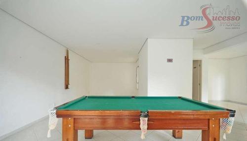 apartamento residencial à venda, jardim anália franco, são paulo. - ap0726